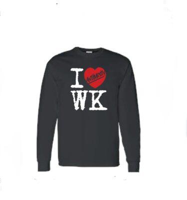 I Heart WK long sleeve.